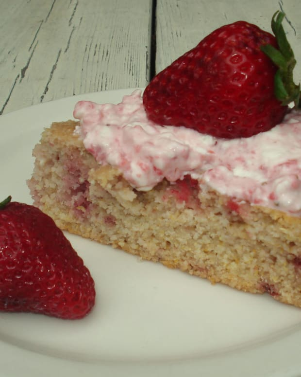 Homemade Butter Cake From Scratch: Fresh Strawberry Triple Layer Cake Recipe (From Scratch