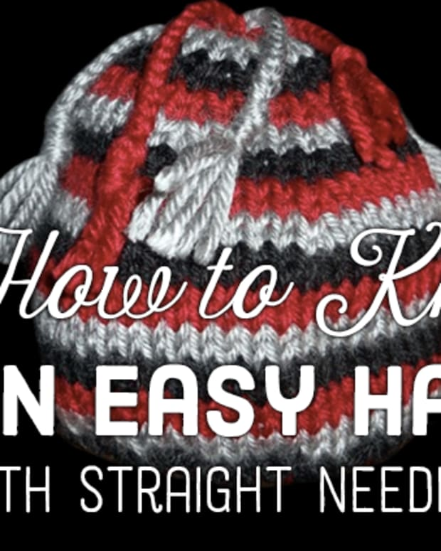 how-to-knit-an-easy-hat-on-straight-needles