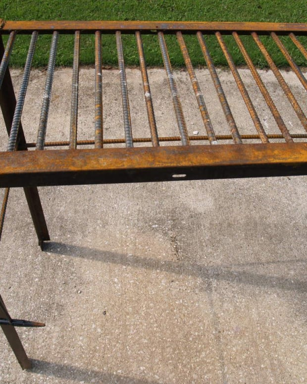 how-to-make-a-man-size-welding-table-from-rebar-and-used-bed-frame-metal-for-less-than-sixty-dollars