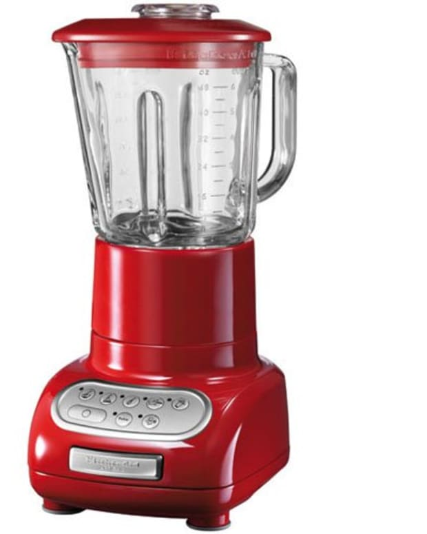 blender, smoothie maker, red