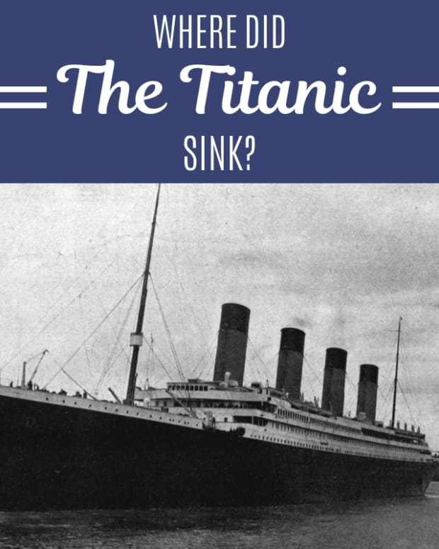 where-did-the-titanic-sink