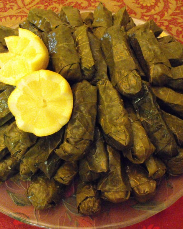 armenian-stuffed-grapeleaves-a-vegetarian-appetizer