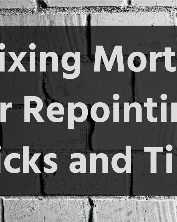 how-to-mix-mortar-using-sand-and-cement-for-pointing