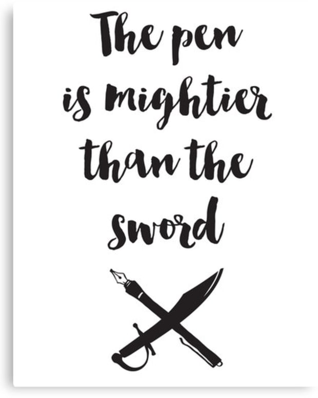 the-pen-is-mightier-than-the-sword-aka-gun