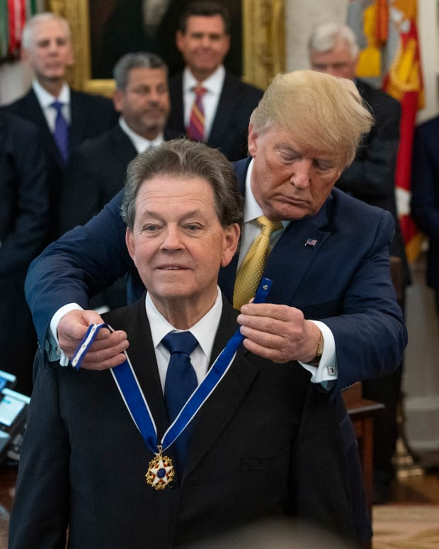 Arthur Laffer, -Official White House Photo