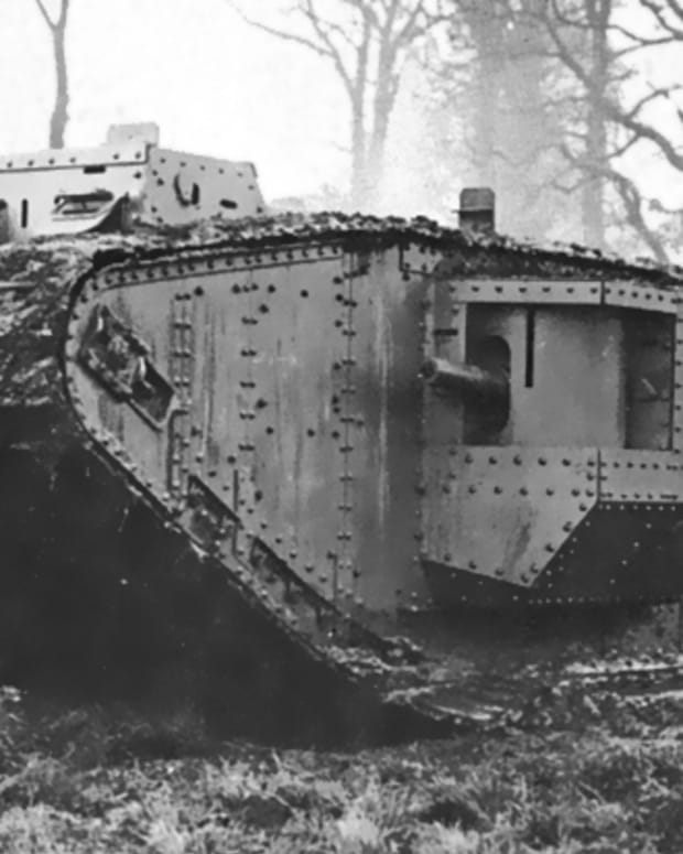 wwi-first-tank-versus-tank-battle