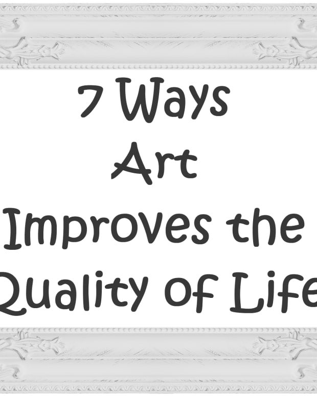7 ways art improves the quality of life.