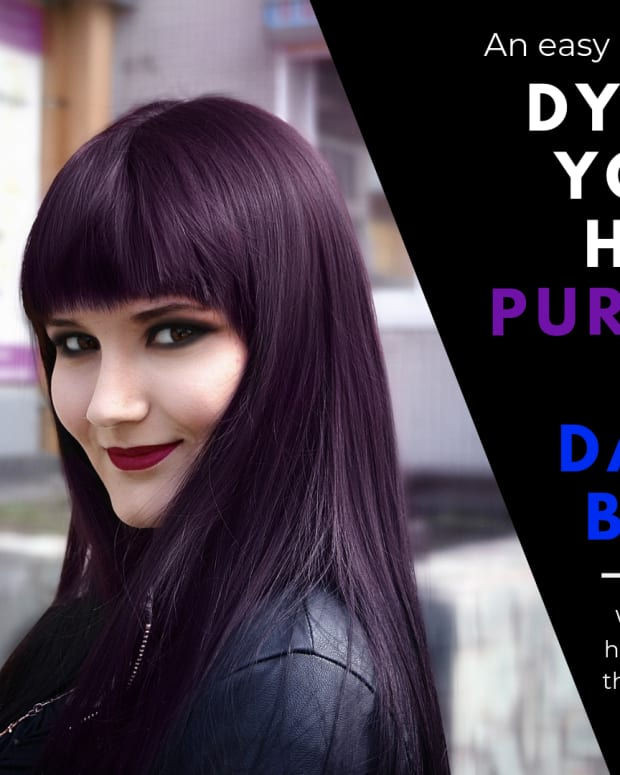 How To Dye Your Hair Purple Bellatory Fashion And Beauty