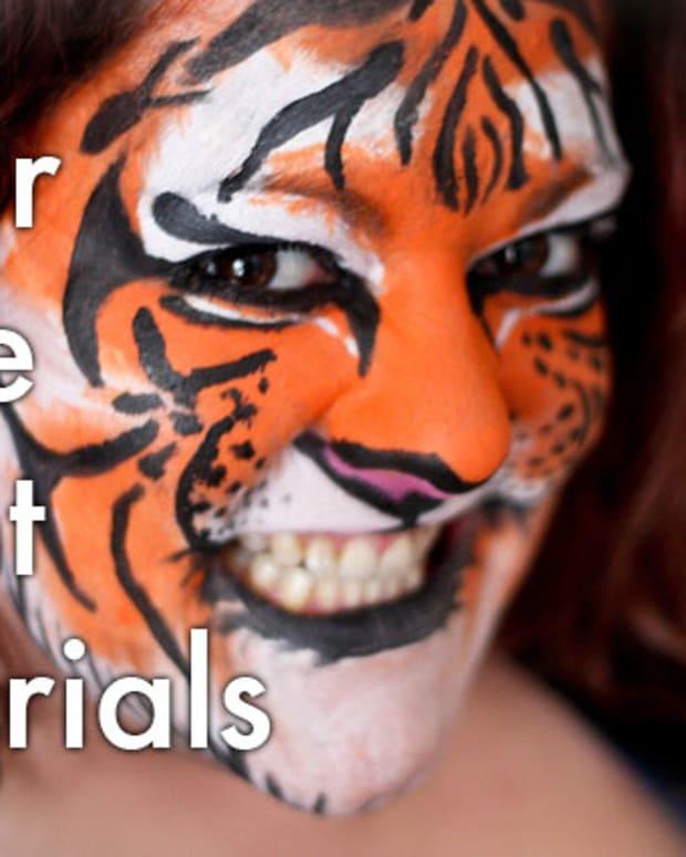 tigermakeuphalloweentutorialsfacepainting
