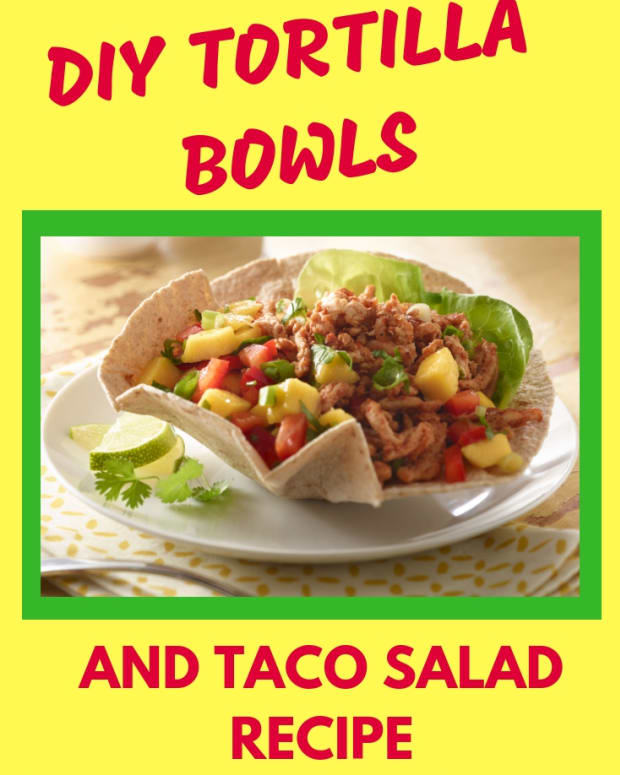 how-to-make-baked-taco-salad-shell-bowls