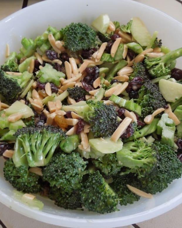 #8 Finished broccoli salad.