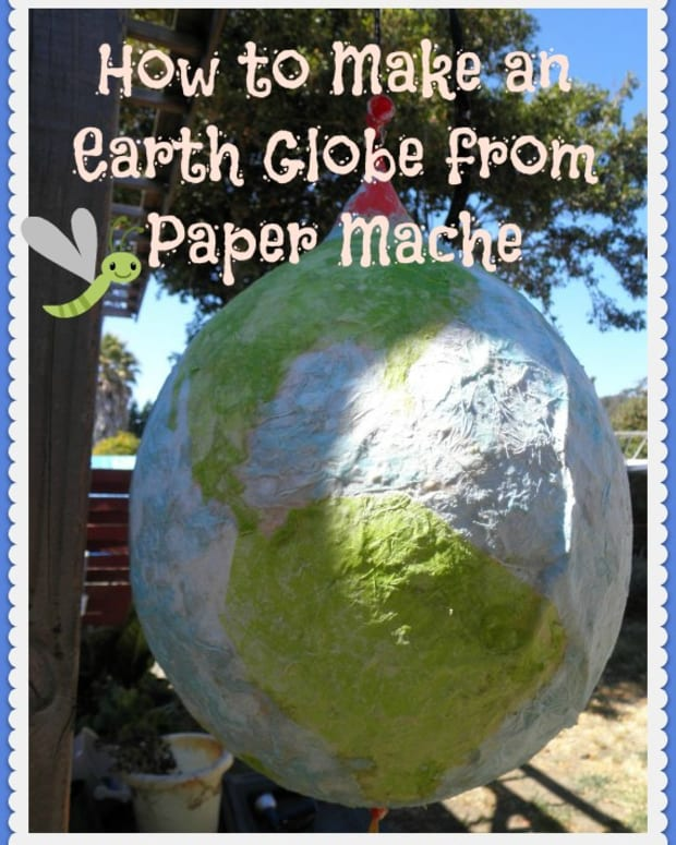 globe-art-project-ideas