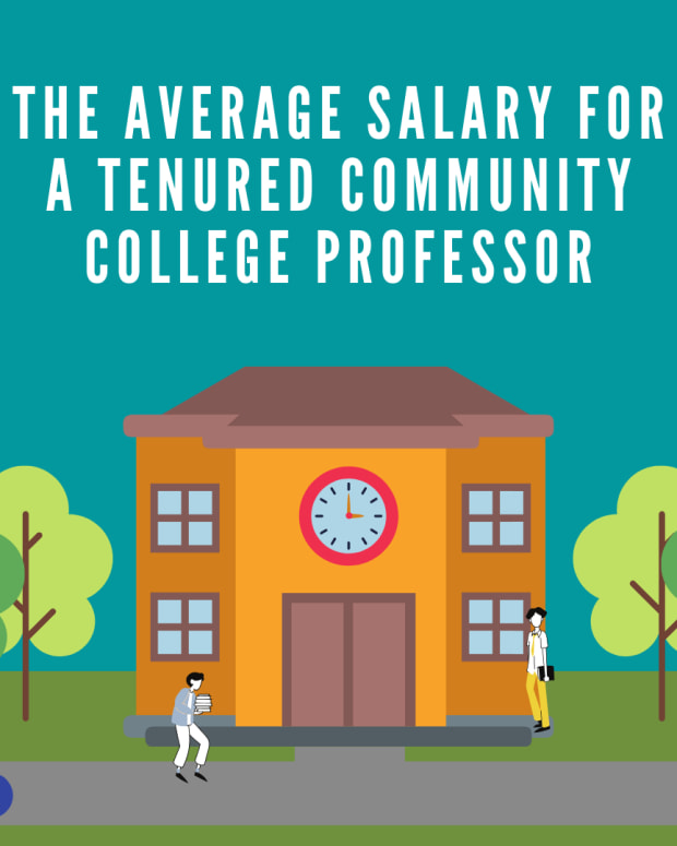 average-salary-for-a-tenured-community-college-professor