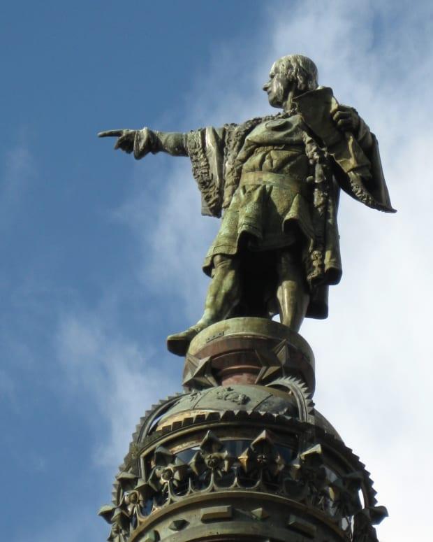 Columbus monument, Barcelona, IMG_0088- Columbus Monument Barcelona Spain.JPG