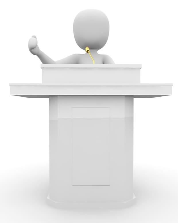 提示 - 改善 - 您的公开演讲技能