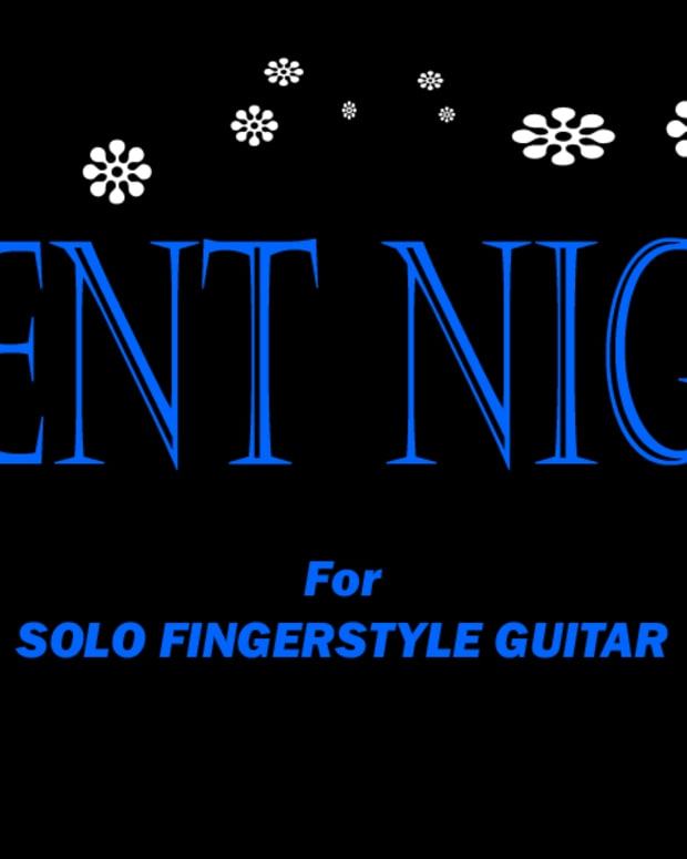 fingerstyle-guitar-christmas-carol-silent-night