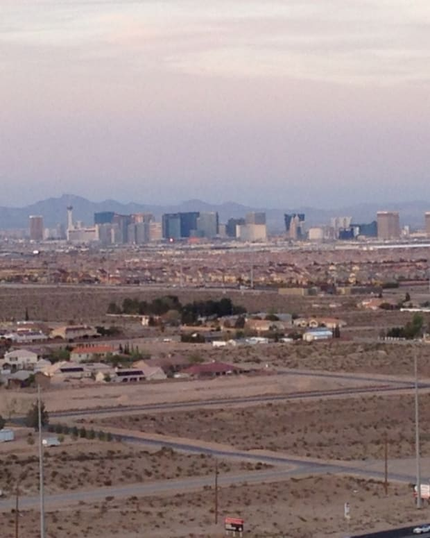 Las Vegas Strip from the Southwest Side