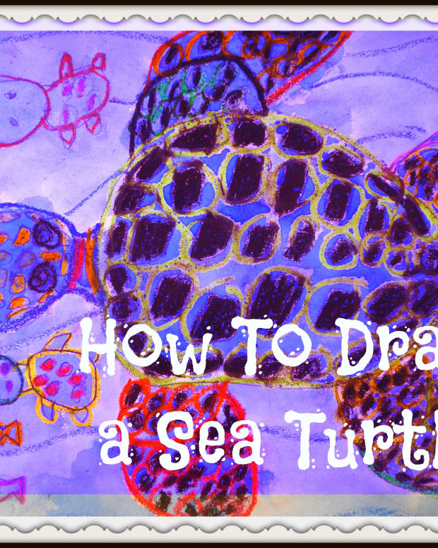 how-to-draw-and-paint-a-sea-turtle