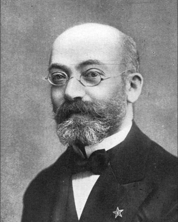 Zamenhof, developer of Esperanto (a constructed universal language)