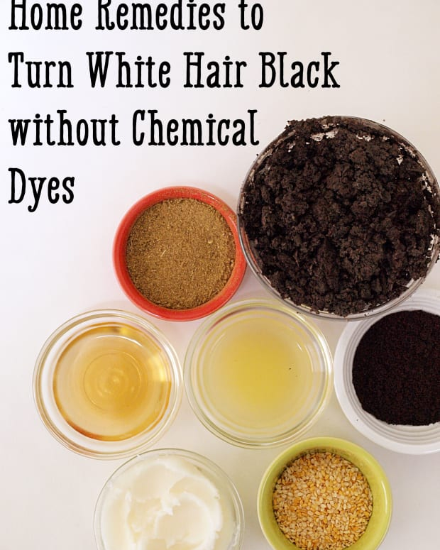 how-to-make-white-hair-black-without-dye