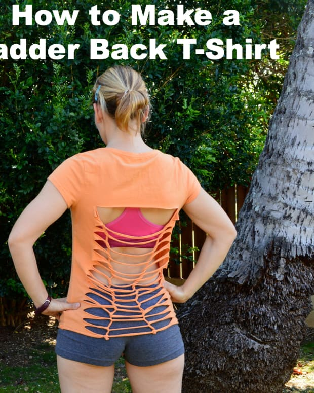 tshirt-reconstruction-no-sew-tee-project-ladderingweaving-tutorial