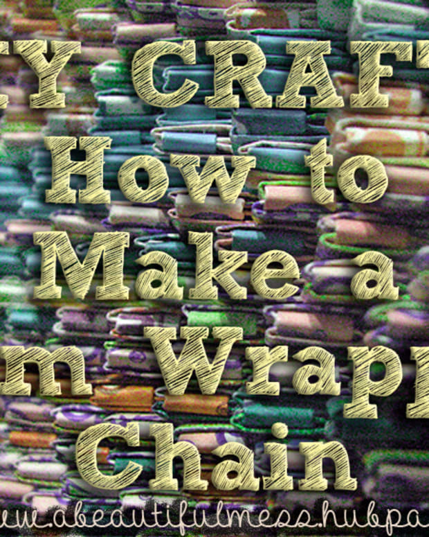 diy-crafts-gum-wrapper-chain