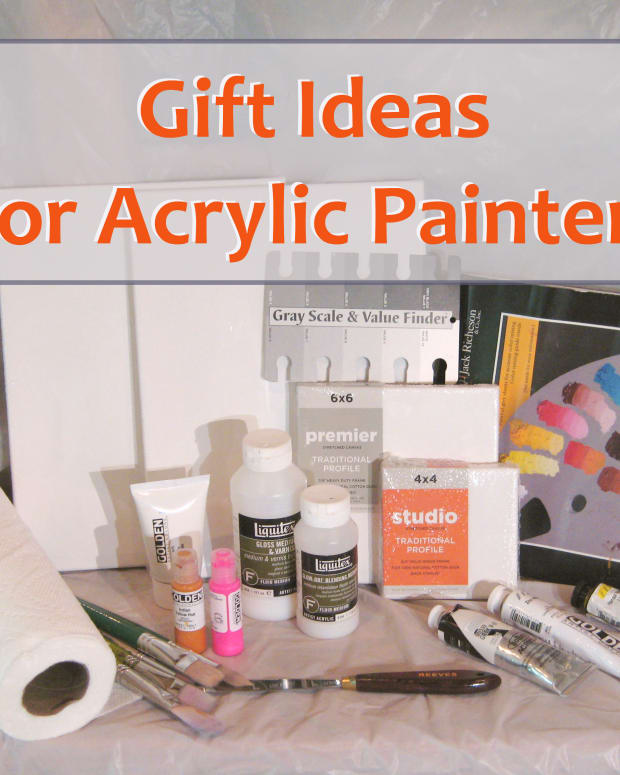 Some gift ideas for acrylic painters.
