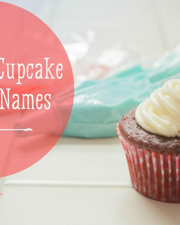 杯形蛋糕名字