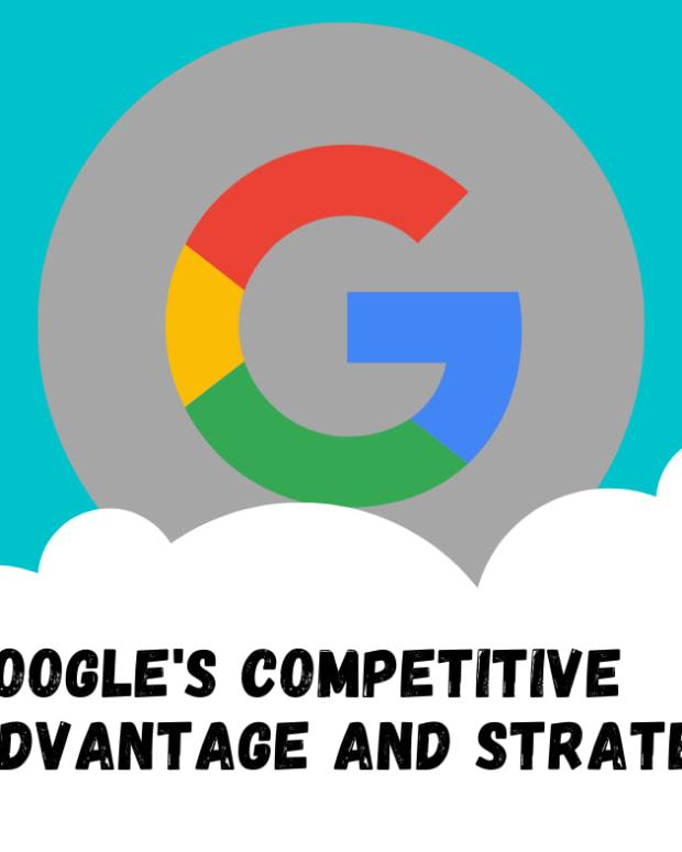Googles  - 竞争优势策略