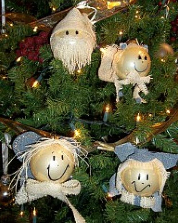 burlap-angel-ornaments