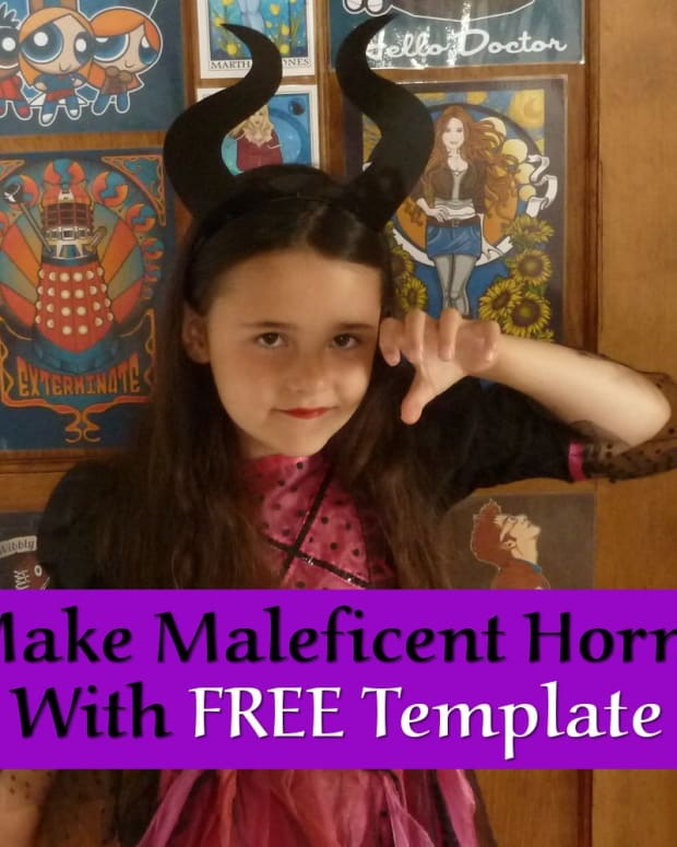 how-to-make-maleficent-horns-with-free-template