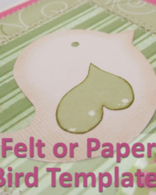 felt-or-paper-bird-template