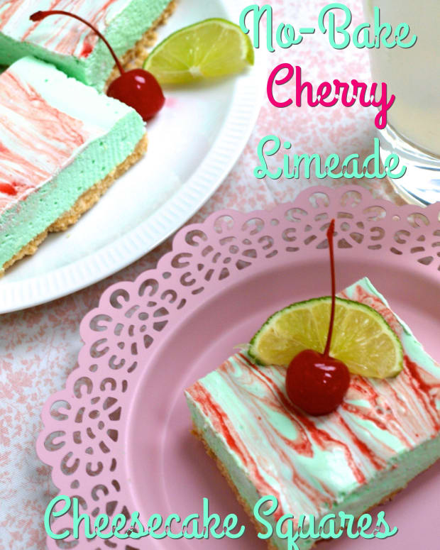 no-bake-cherry-limeade-cheesecake-squares