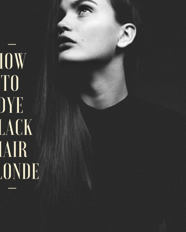 how-to-dye-black-hair-blonde