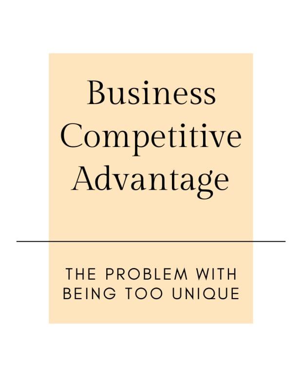业务竞争优势 - 问题 - 过于独特