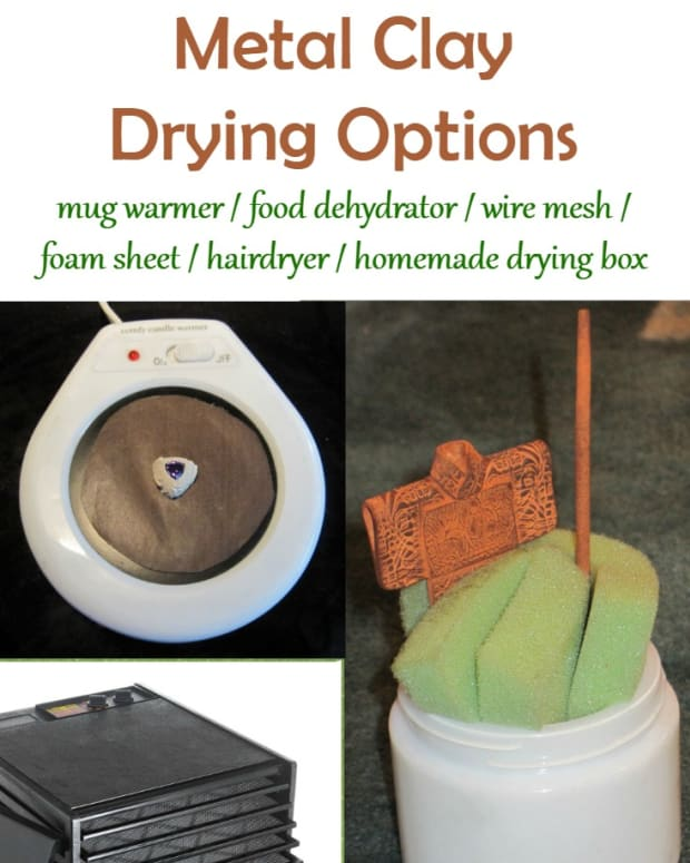 drying-metal-clay