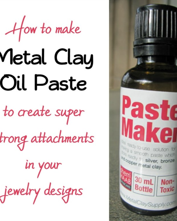 making-pmc-silver-metal-clay-oil-paste