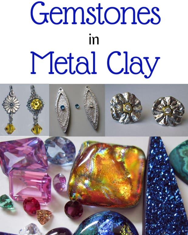 gemstones-in-metal-clay