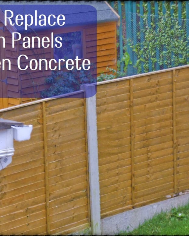 how-to-replace-a-fence-panel-with-concrete-posts