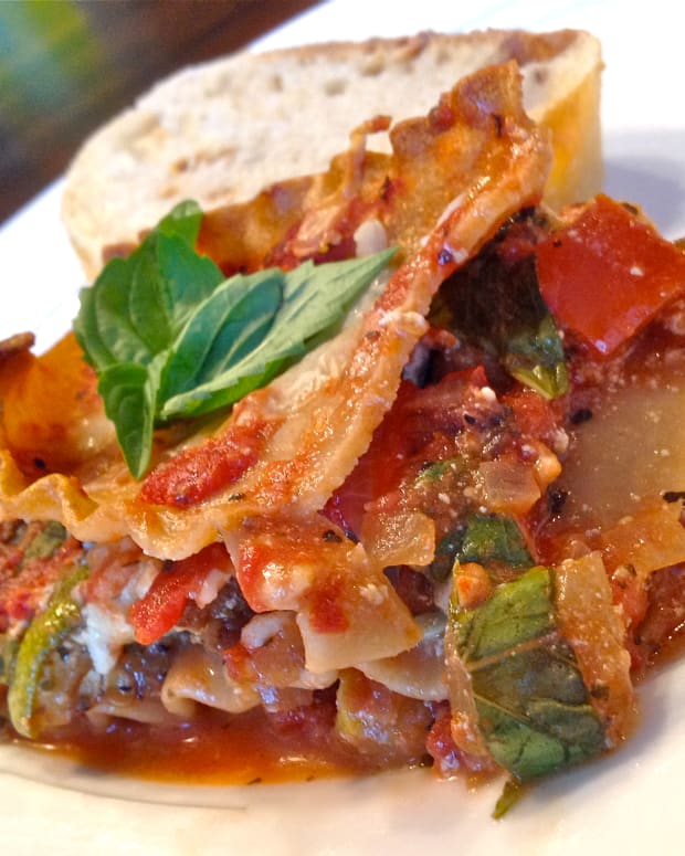 vegetarian-recipe-roasted-vegetable-lasagna