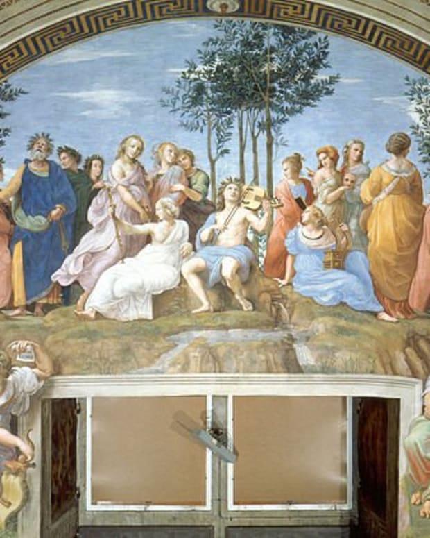 Apollo, Muses, Poets, Greek Mythology