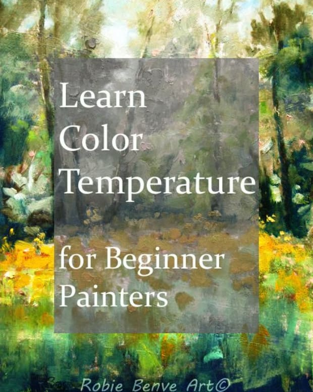 Color temperature explained for the beginner painter.