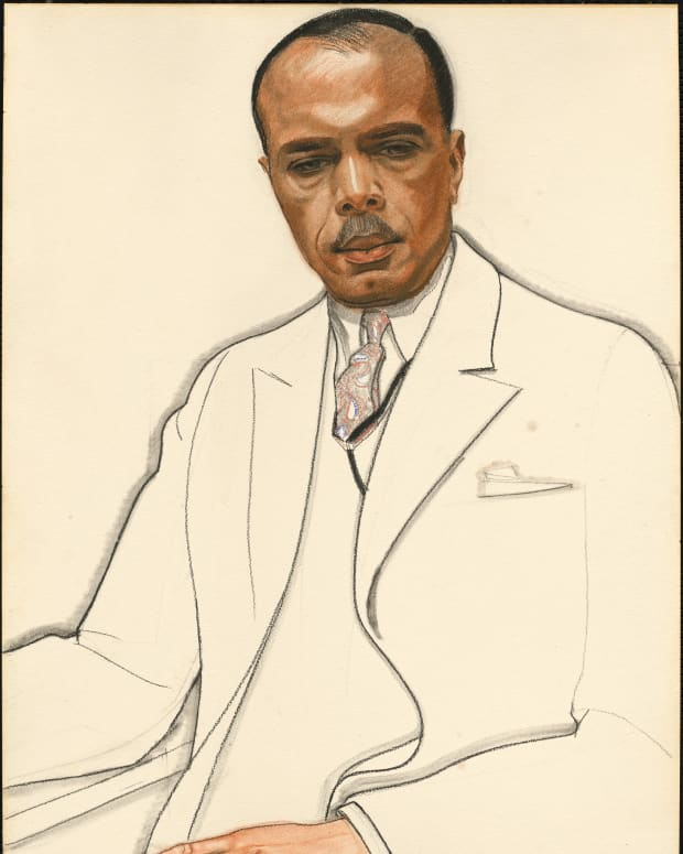 James Weldon Johnson - Sketch