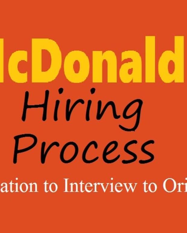 雇用 - 流程 - 麦当劳 - 从应用到面对面到方向