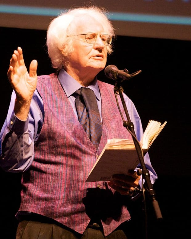 "Robert Bly's ""Driving to Town Late to Mail a..."