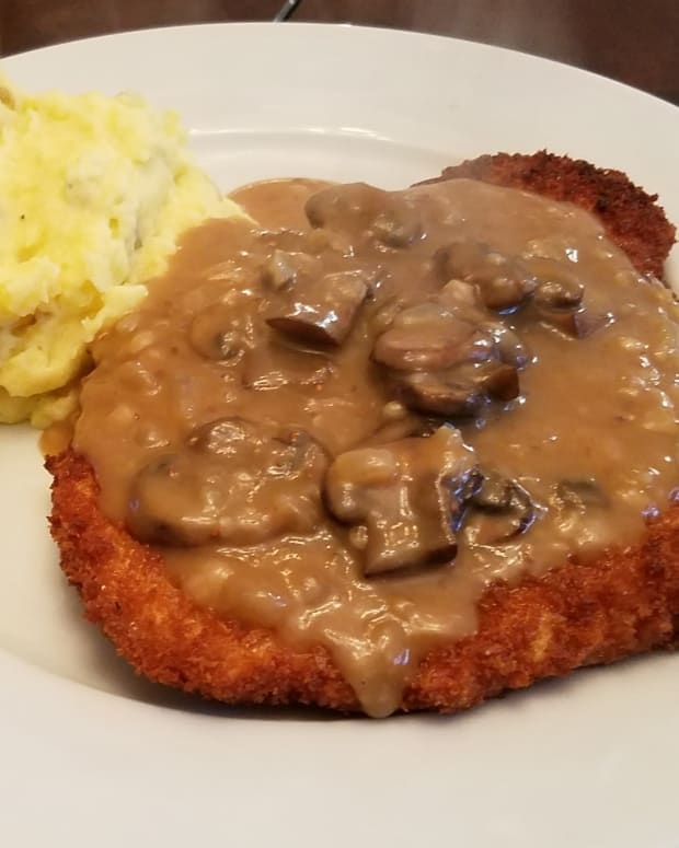 omas-schnitzel-and-jaeger-sauce-simply-delicious