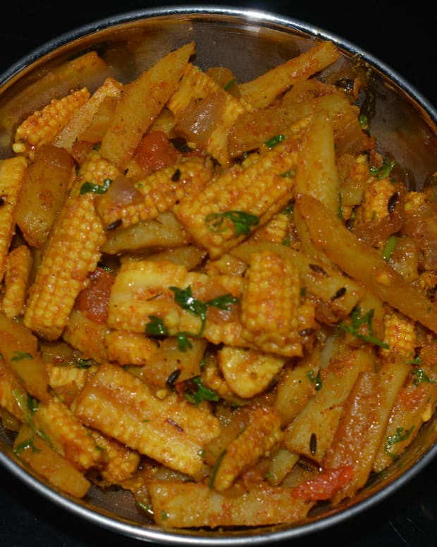 healthy-recipes-spicy-baby-corn-and-potato-stir-fry