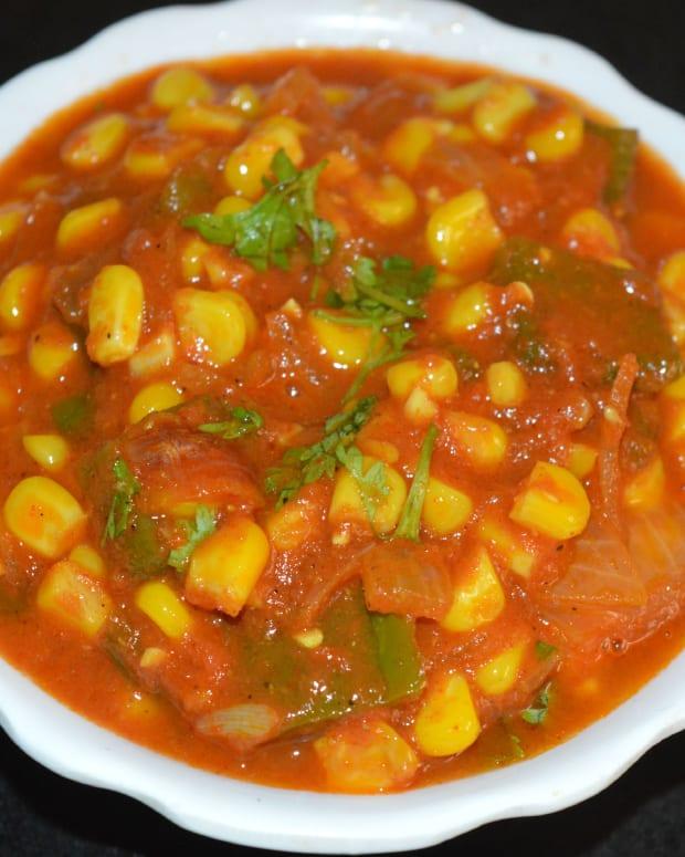 how-to-make-sweet-corn-capsicum-masala-curry