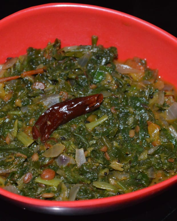 spinach-spring-onions-and-tomato-curry
