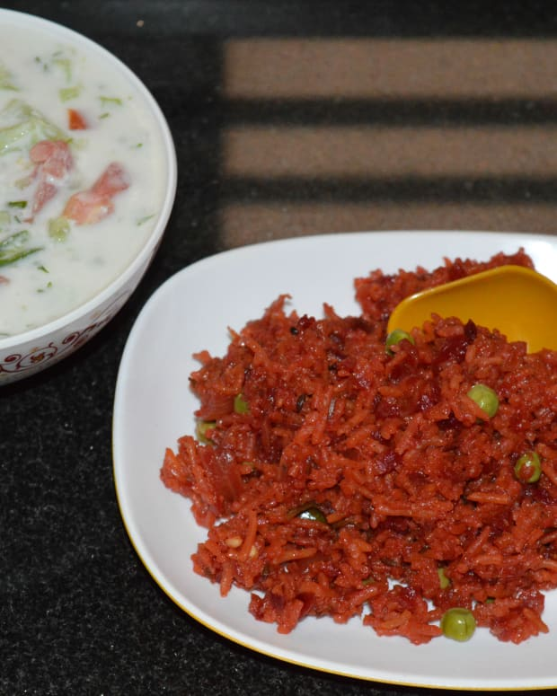 how-to-make-beetroot-rice-or-beetroot-pulao